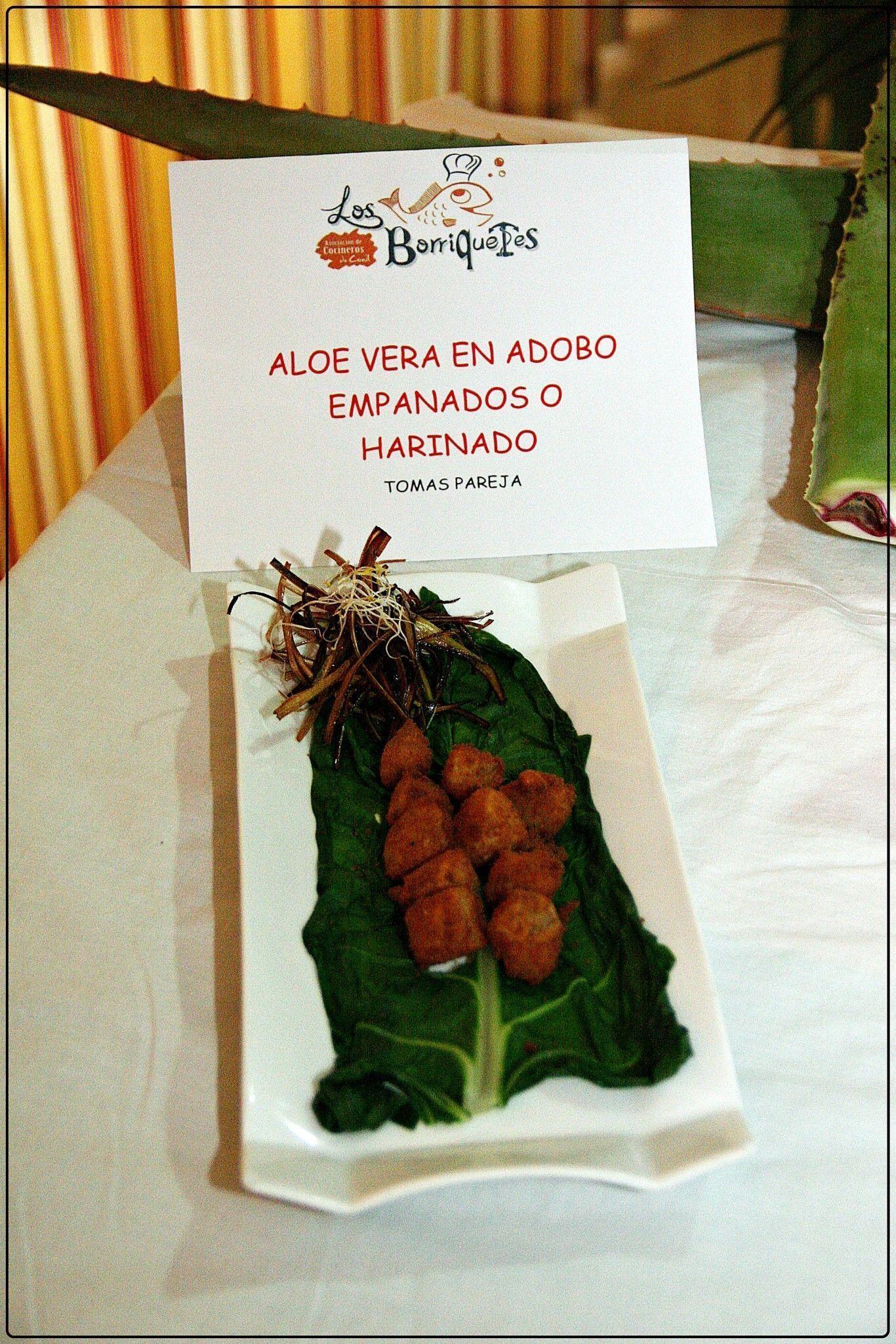 Aloe vera en adobo