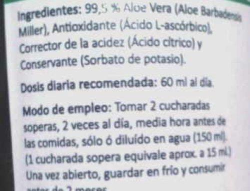 """""""Quien compre un producto de Aloe vera por 2 ó 3 euros debe saber que no es de calidad ni está controlado"""""""
