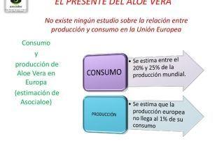Consumo en Europa aloe vera