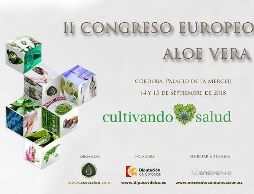 Asocialoe ya está inmerso en la organización del II Congreso Europeo de Aloe Vera