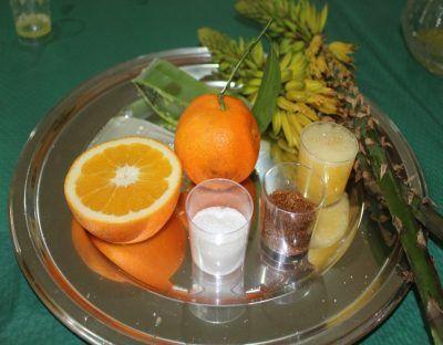Receta zumo de aloe vera anaranjado