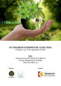 Programa II Congreso Europeo de Aloe Vera